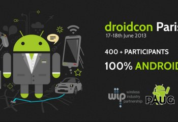 Le planning de la Droidcon Paris 2013 est disponible