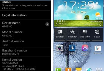 Fuite de la version test d'Android 4.2.2 pour le Galaxy S3