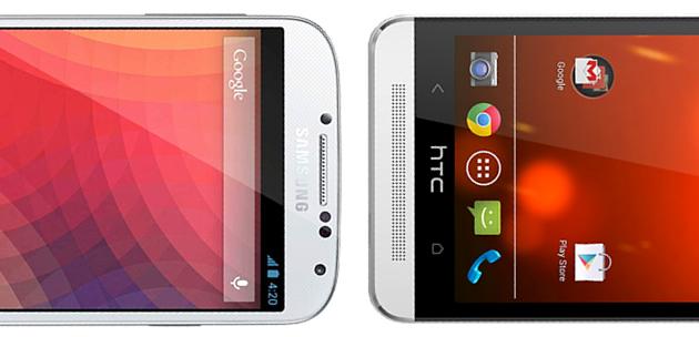 Google Edition : Samsung Galaxy S4 et HTC One dévoilés sur le Play Store