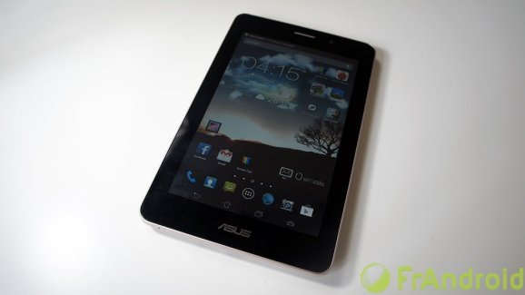 Test de l'Asus FonePad, la tablette avec fonction téléphone