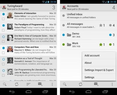 K-9 Mail : mise à jour majeure de l'application mail