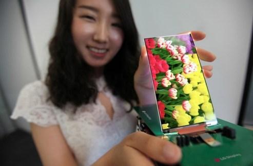 L'écran Full HD le plus fin du monde est signé LG