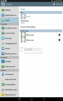 Bientôt le mode multi-utilisateur sur les tablettes Samsung