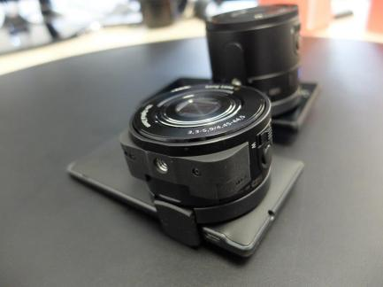 Test des modules Sony QX10 et QX100 par un Xpert