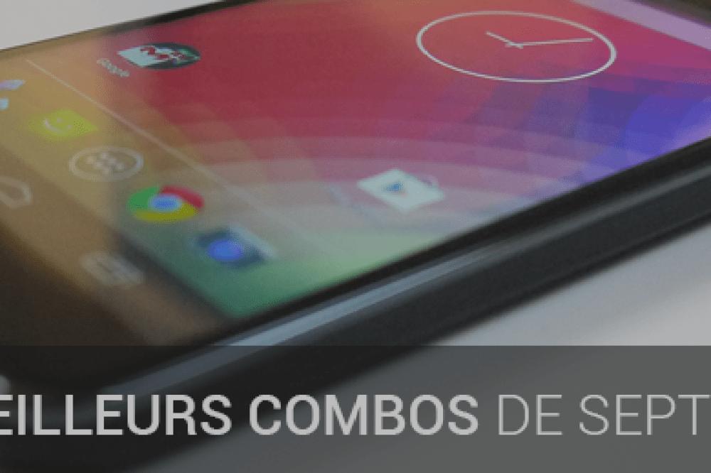Bons plans : les duos parfaits smartphone et forfait du mois de septembre