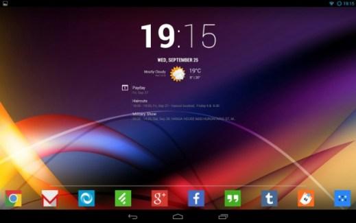 Chronus, un widget d'horloge et météo (de Cyanogen) pour l'écran verrouillé débarque sur le Play Store