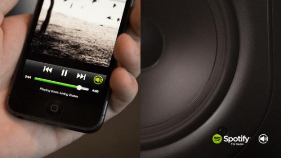 Spotify Connect, une solution pour connecter un mobile à des haut-parleurs