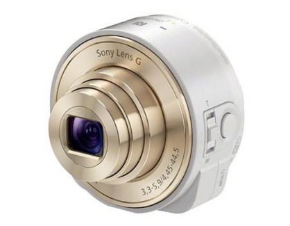 Sony «Smart Shot» QX10 et QX100, des capteurs photos entre 250 et 450 dollars