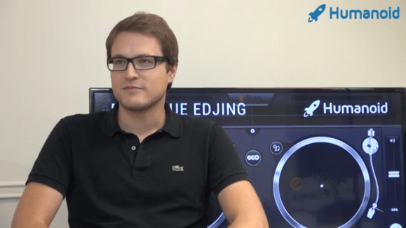 Entrevue avec Jean-Baptiste Hironde, fondateur de l'application Edjing