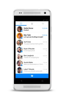 Une nouvelle version de Facebook Messenger pour Android actuellement en test