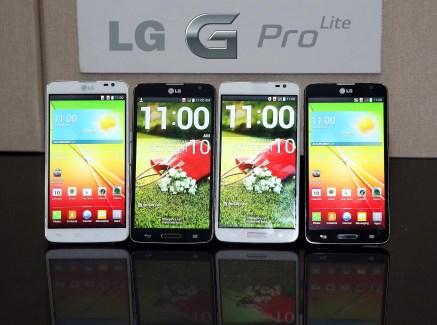 Le LG G Pro Lite est officiel