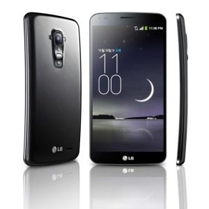 Le LG G Flex est officiel, avec un format incurvé et une coque capable de «s'auto-réparer»