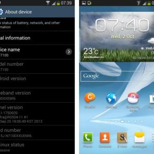 Galaxy S3, S4 et Note 2 : Android 4.3 est officialisé et en approche