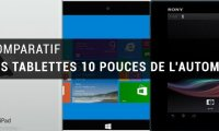 Comparatif des tablettes 10 pouces du moment : iPad Air, Surface 2,...