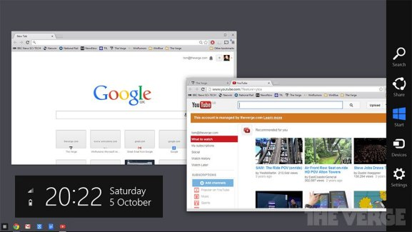 Chrome OS dans Windows 8, le cheval de troie de Google