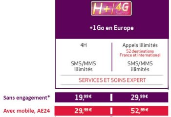 Virgin Mobile : des forfaits 4G ultra-concurrentiels