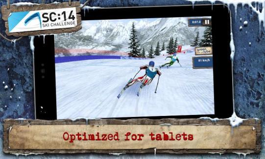 Ski Challenge 2014, les sports d'hiver dans votre appareil