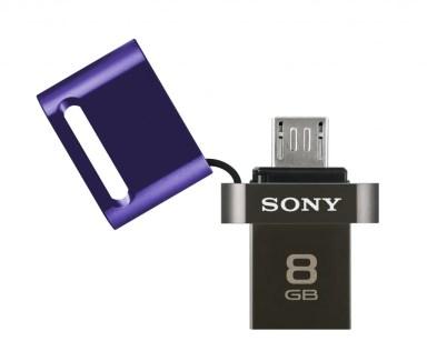 La première clé micro-USB de Sony vise les terminaux sans port microSD