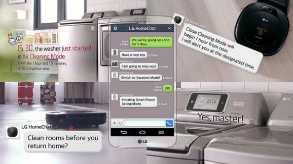 LG HomeChat, vers la gestion des appareils electroménagers sur Android