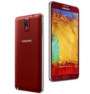 Les Galaxy Note 3 Rouge et Noir/Blanc & Or Rose sont officiels et plus discrets que prévu