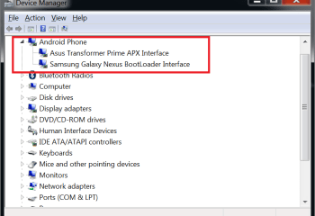 Universal Naked Driver : un pack de pilotes ADB compatible Windows