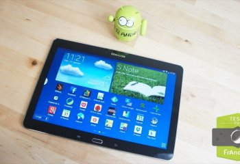 Test de la tablette Samsung Galaxy Note 10.1 2014 Edition