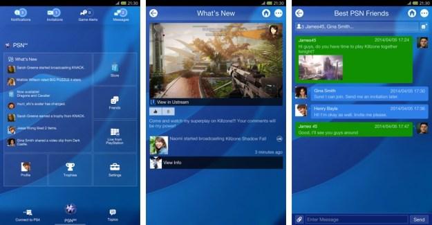 Playstation App : les vidéos en direct arrivent sur l'application compagnon de la PS4