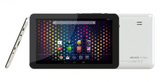 Archos Neon : des tablettes Android d'entrée de gamme de 9, 9,7 et 10,1 pouces