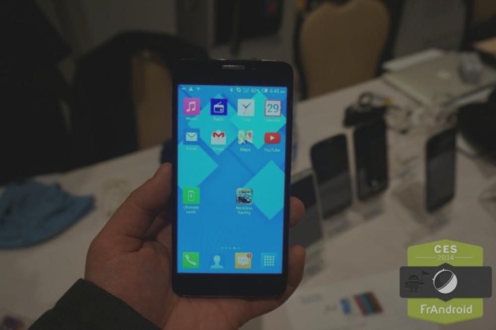 Prise en main de l'Alcatel One Touch Idol X+ avec ses huit coeurs