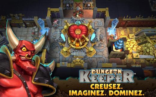 Dungeon Keeper fait son entrée sur le Play Store !