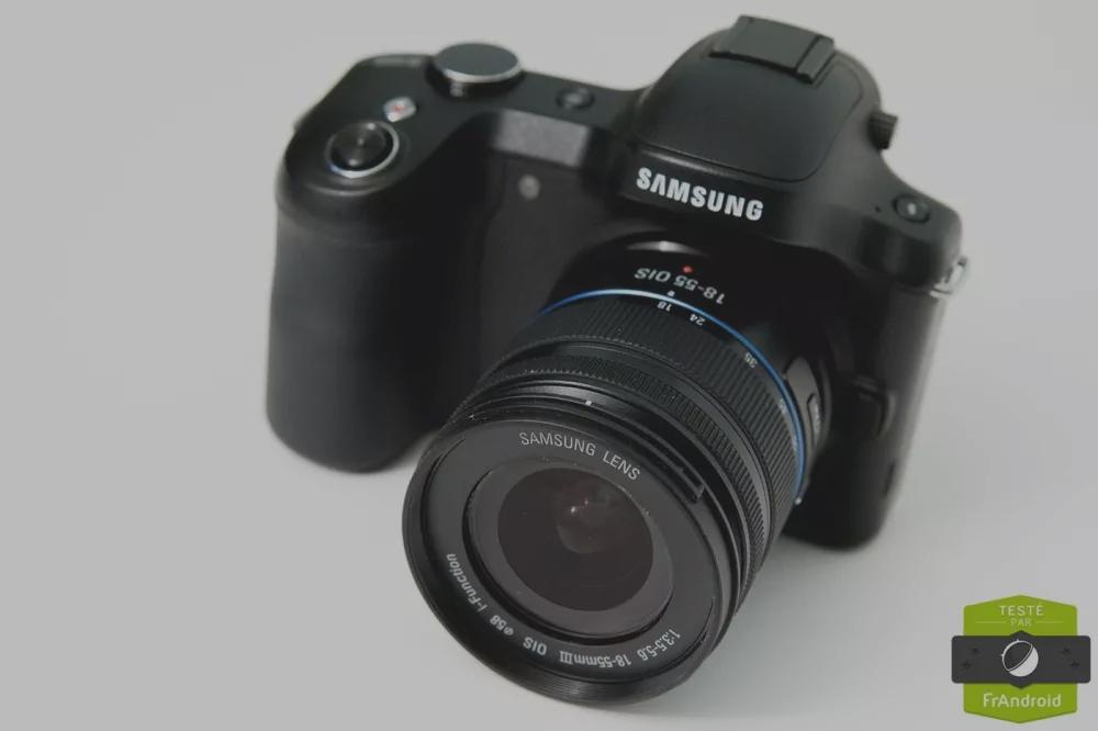 Test du Samsung Galaxy NX, un appareil photo à objectifs interchangeables sous Android