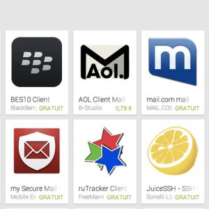 6 alternatives à Gmail sur Android