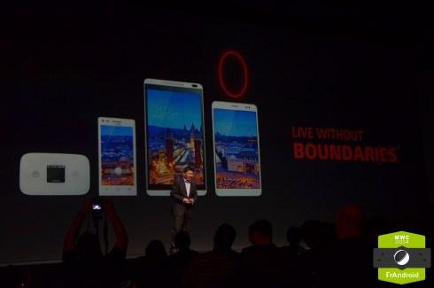 Au MWC, Huawei voit la 4G comme une famille : Mediapad X1, M1 et routeur Wi-Fi 4G
