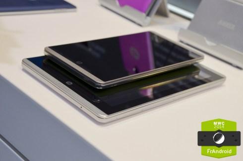 Prise en main des phablettes HP Slate VoiceTab, deux terminaux Android de 6 et 7 pouces