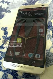 Une nouvelle photo du HTC M8 de face, sans boutons sous l'écran
