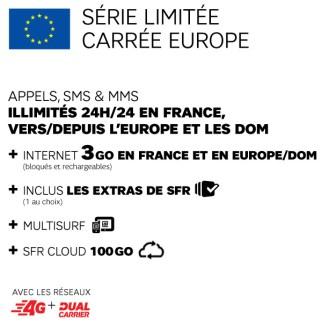 SFR part à l'assaut du roaming européen avec un forfait «Carré Europe»