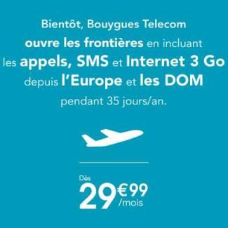Bouygues Telecom déploie le «roaming inclus», malheureusement les prix montent