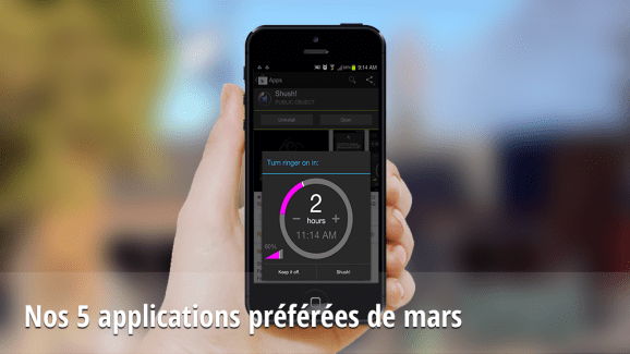 Nos 5 applications Android préférées de mars