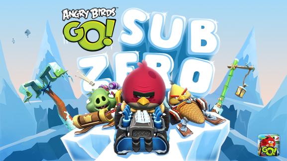 Angry Birds Go fête la fin de l'hiver avec la mise à jour Sub Zero