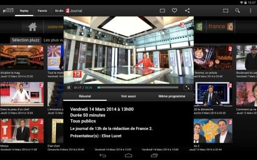 francetv pluzz : l'app de France Télévisions est compatible Chromecast !