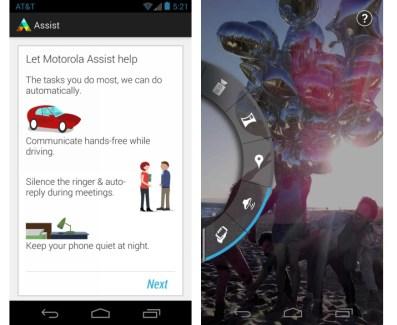 Motorola Assist et Appareil photo Motorola sur Android : prenez des photos depuis les touches volume de votre téléphone