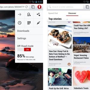 Navigateur Opera 20.0 : un design plus flat, du WebRTC et Mise en page personnalisable