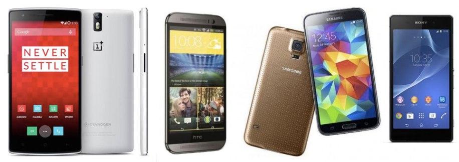 OnePlus One : tient-il la comparaison avec les Galaxy S5, Xperia Z2 et One (M8) ?