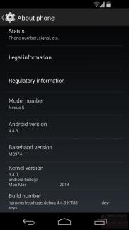 Android 4.4.3 s'invite sur les Nexus 5 de Sprint