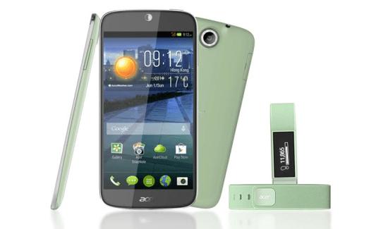 Acer Liquid Jade et Liquid Leap : un pack avec le premier bracelet connecté de la firme