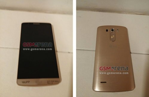 LG G3 : premières photos d'un prototype en version Gold