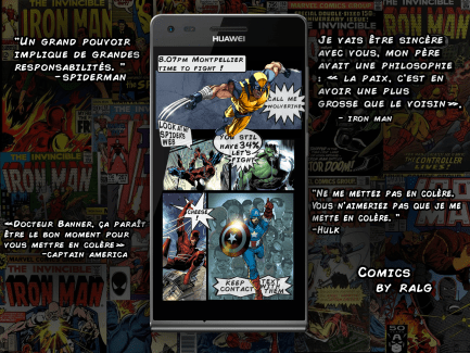 Pimp my Phone : personnalisez votre smartphone avec les héros de Marvel !