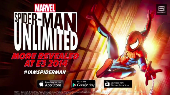 Spider-Man Unlimited, un runner-game sur Android, iOS et Windows Phone