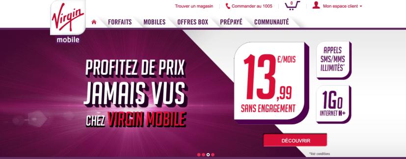 Virgin Mobile lance un nouveau forfait IDOL à 13,99 euros