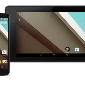 Android L, Android Wear, Android TV : les SDK sont disponibles (Nexus 5 et Nexus 7 2013 aussi)